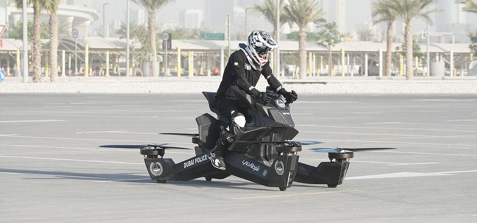 Dubai Police get hovercraft