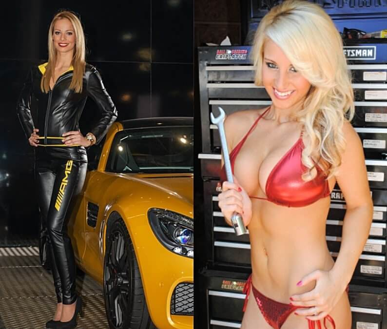 WHAT IS A CAR SHOW GIRL?