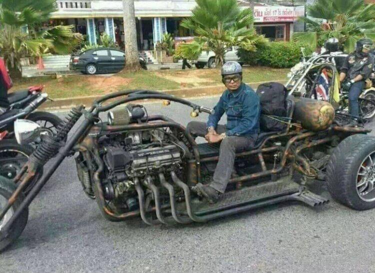 Crazy Hand Built Trike