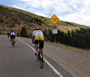 Road and Bicyclists