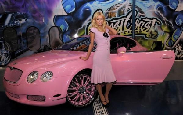 Road and Wealth – Paris Hilton